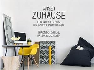Bilder Für Die Wand : wandtattoos f r coole familien familienspr che und motive ~ Markanthonyermac.com Haus und Dekorationen