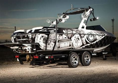Ski Boat Paint Jobs by Boat Wraps Or Paint Job Which One Is Better Houston