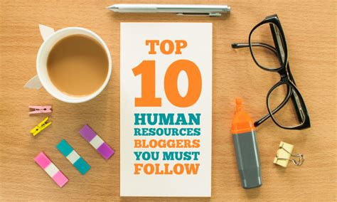 Top 10 Human Resources Bloggers You Must Follow  When I Work