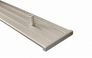 Gardinenschiene Alu 1 Läufig : vorhangschiene 3 l ufig silber aus aluminium ~ Markanthonyermac.com Haus und Dekorationen
