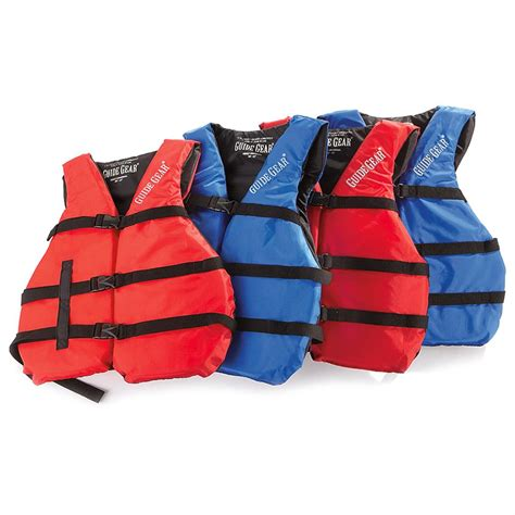Boat Life Jacket by 4 Pk Of Guide Gear Universal Life Jackets 217996