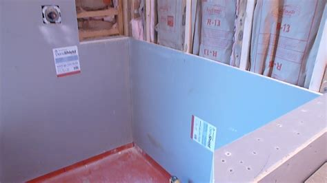 how to install shower surround tile backer board durock or cement board part quot 1 quot