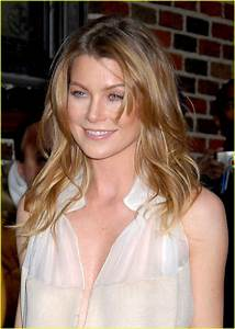Ellen Pompeo @ Letterman: Photo 1036851 | David Letterman ...