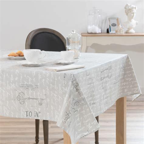 nappe table basse grise ezooq