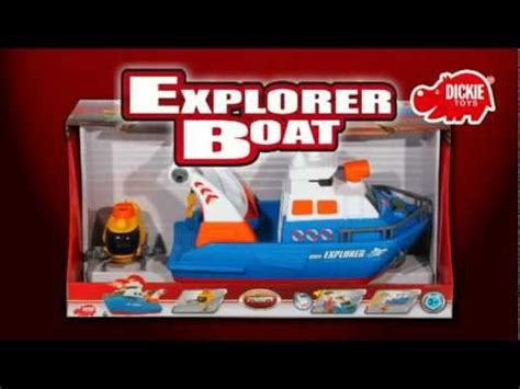 Explorer Toy Boat by Dickie Toys Explorer Boat Youtube