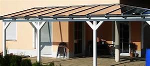 Terrassenüberdachung Aus Stoff : terrassenueberdachung selber bauen mit glasdach ~ Markanthonyermac.com Haus und Dekorationen