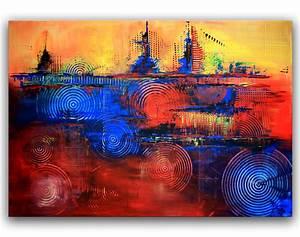 Moderne Kunst Leinwand : bild modern abstrakt gem lde moderne malerei von alex b bei kunstnet ~ Markanthonyermac.com Haus und Dekorationen