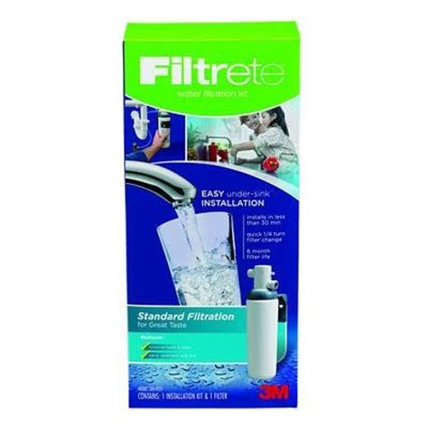 Filtrete Sink Standard Replacement Water Filter by 3usas01 Faucets