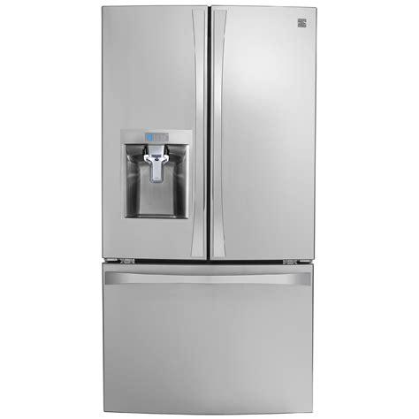 kenmore elite 74043 23 7 cu ft door fridge sears