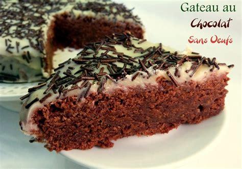 gateau au chocolat sans oeufs recette delicieuse amour de cuisine