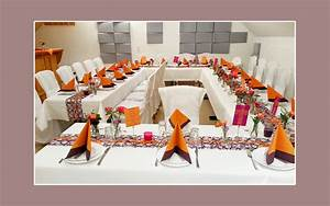 Deko Für Hochzeit : orange lila tischdeko zur hochzeit ~ Markanthonyermac.com Haus und Dekorationen