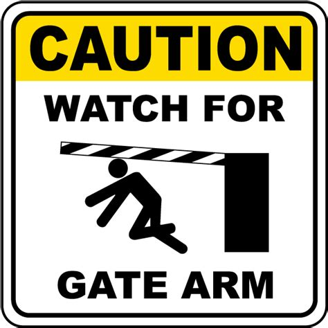 Caution Watch For Gate Arm Sign F7317  By Safetysignm. Beaufort County Sheriff Nc Home Loans Options. Car Accident Lawyer New Orleans. American General Car Insurance. On Demand Audio Conferencing. Vanderbilt University Nashville Tn. Boca Raton Window Tinting Masters Of Theology. Beauty School Washington Dell Virtual Desktop. Air Conditioners Company Vinyl Windows Denver