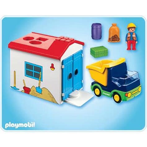 123 Truck W Garage By Playmobil On Barstons Childs Play