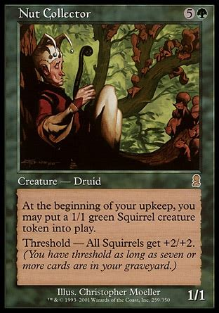 Mtg Squirrel Tribal Deck by Nut Collector Odyssey