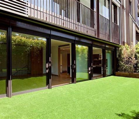 photo de messi duplex barcelone jardin