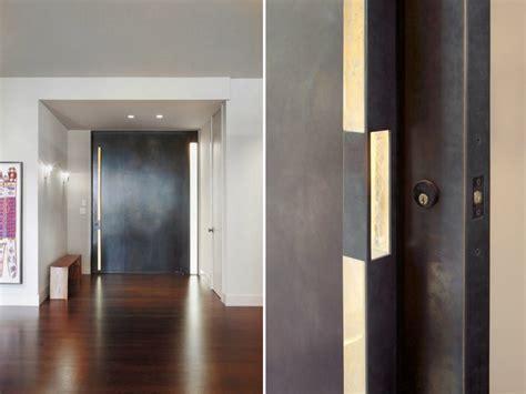 porte d entr 233 e moderne pour habiller la grande hauteur sous plafond