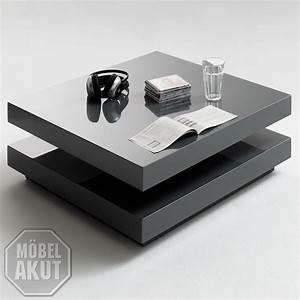 Couchtisch Glas Grau : couchtisch vision in grau hochglanz quadratisch ebay ~ Markanthonyermac.com Haus und Dekorationen