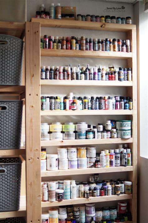 Diy Wood Shelf Craft Storage