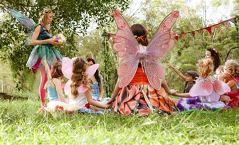 Girls Fairy Birthday Party Entertainers