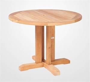 Gartentisch Holz Rund 120 : runder teak gartentisch william von traditional teak ~ Markanthonyermac.com Haus und Dekorationen