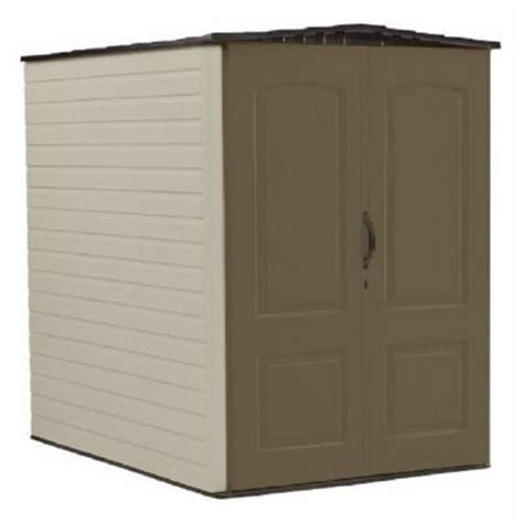 rubbermaid 5 ft x 6 ft big max plastic shed 1967672