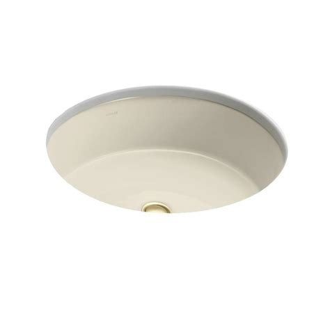 kohler verticyl oval vitreous china undermount bathroom