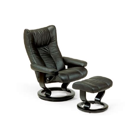 stressless wing recliner and ottoman by ekornes ekornes stressless breeds picture