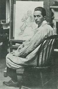 Joseph Christian Leyendecker at work... | | In The Studio ...