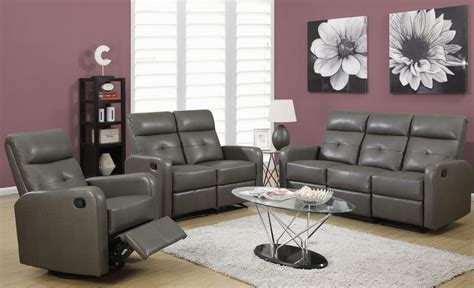 85gy-3 Charcoal Gray Bonded Leather Reclining Living Room Play Wonder Kitchen Chinatown Shelton Ct Bath And Tile Wine Pictures For Faucet Repair Tasting Venice Greenhouse Window Soup Phoenix