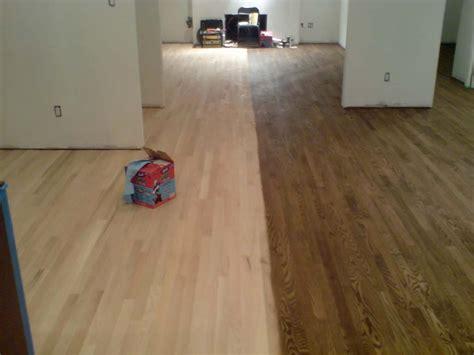 Choosing Hardwood Floor Stains  Dark Wood