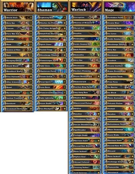 hearthstone tournament decks archives hs decks and guides