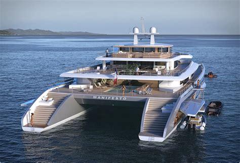 Mega Catamaran Sailing Yachts by Manifesto Catamaran Superyacht