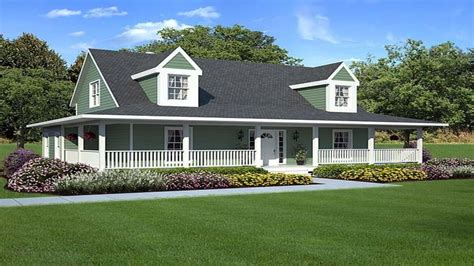 Home Design With Wrap Around Porch : Modern House Plans With Wrap Around Porch
