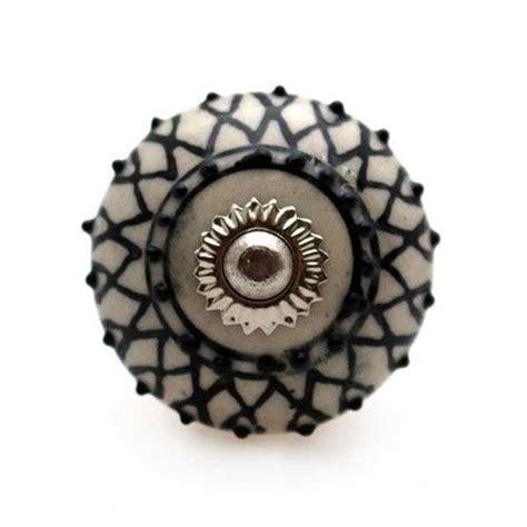 bouton de meuble mandala motif floral en porcelaine 3 80 boutons mandarine bouton de