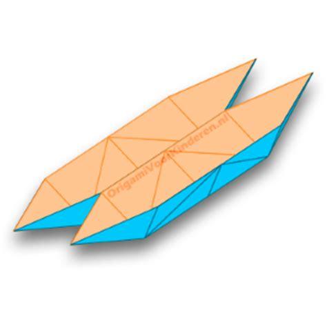 Speedboot Proefje by Catamaran Boot 1 Makkelijk Origami Voor Kinderen