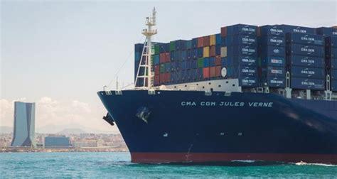 transport cma cgm inaugure le plus grand porte conteneurs du monde enviro2b