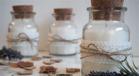 DIY Gastgeschenk für deine Vintage Hochzeit Duftkerzen