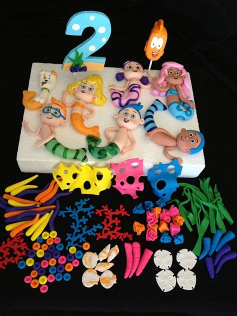 1000 ideas about guppies cake toppers on guppies birthday cake