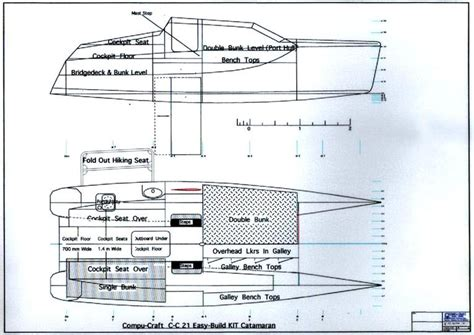 Catamaran Plans Plywood by Plywood Catamaran Plans How To And Diy Building Plans