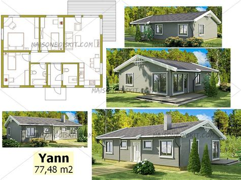 plan gratuit de chalet en bois en kit et plan de maison bois