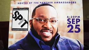 PVAMU Spit Knowledge Featuring Dr. Marvin Sapp Filmed By ...