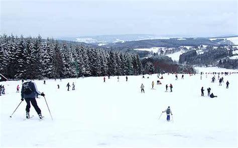 skibaan langlauf slede verhuur ardennen belgique ardenne ski baraque de fraiture neige