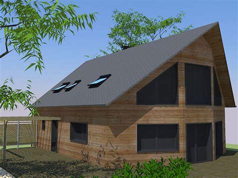 constructeur maison bois oise maison moderne