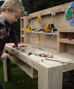 Kinderwerkbank Holz Selber Bauen : pure werktafel voor kids maken voor de kids pinterest werkbank kinder karton spielzeug ~ Markanthonyermac.com Haus und Dekorationen