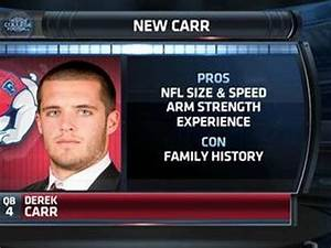 Derek Carr, Brady Quinn, and Why Alex Smith Just Asked for ...