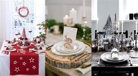 decoration table noel 50 id 233 es pour d 233 corer sa table no 235 l
