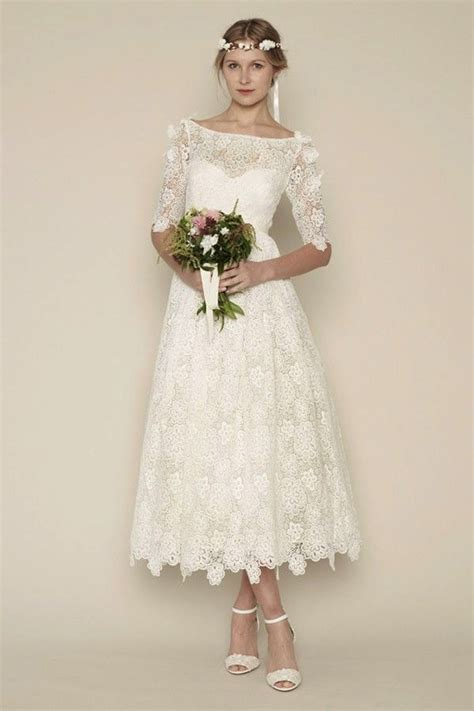 Tea Length Wedding Dresses For Classic Style  Modwedding. Wedding Dresses With Lace Cheap. Country Wedding Dresses With Denim. Cheap Wedding Dresses Sacramento. Modern Wedding Dress Adelaide. Wedding Dress A Line Slip. Romantic Flowy Wedding Dresses Uk. Wedding Dress Style Help. Most Beautiful Wedding Gowns With Sleeves