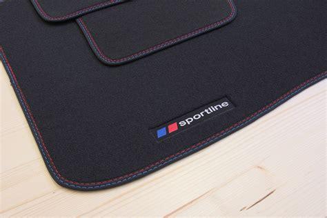 sportline tapis de sol pour bmw s 233 rie 1 e87 5 portes