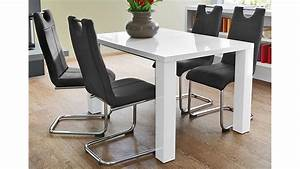 Esstisch Weiß 140 Ausziehbar : esstisch elke wei hochglanz ausziehbar 140 180x90 cm ~ Markanthonyermac.com Haus und Dekorationen