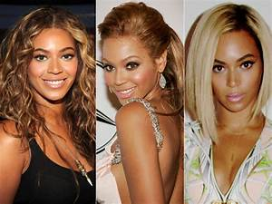 Beyonce's Hair Style Evolution.